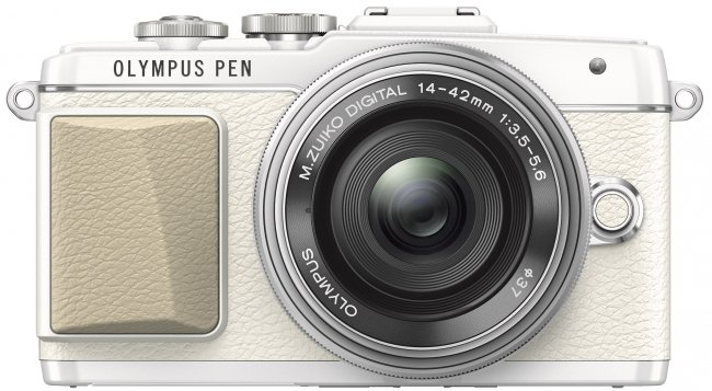 Beispielbild Olympus PEN E-PL7 in Weiß/Ocker [Bildmaterial: Olympus]