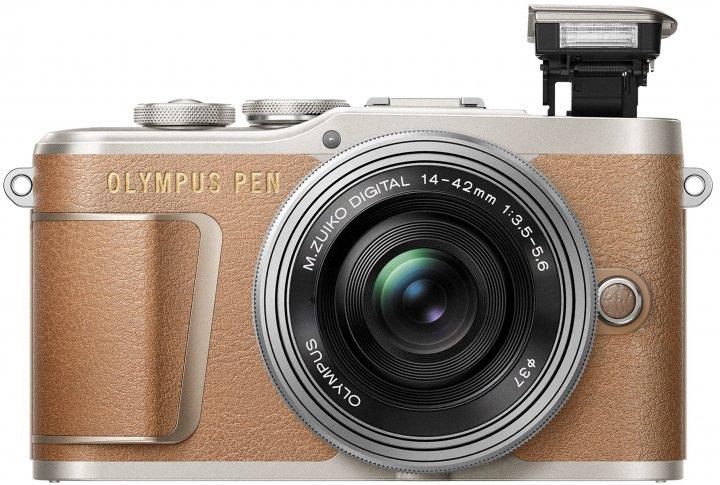 Olympus PEN E-PL9: Der Blitz ist in die Kamera gewandert [Bildmaterial: Olympus]