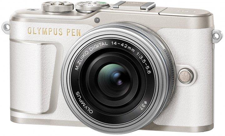 Olympus PEN E-PL9: Verfügbar ab März 2018 in Schwarz, Weiß und Braun [Bildmaterial: Olympus]