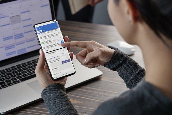 Das auf Android aufgesetzte OxygenOS bietet viele Extra-Features wie z.B. einen geteilten Bildschirm zur gleichzeitigen Nutzung von zwei Apps