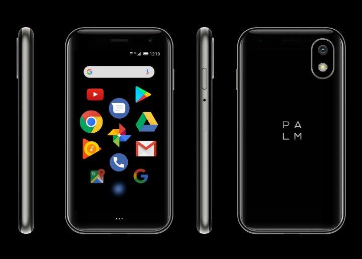Auf dem Palm läuft ein angepasstes Android-Betriebssystem