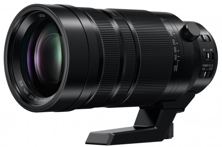 Panasonic LEICA DG VARIO-ELMAR 4-6.3/ 100-400mm/ Asph./ mit Stativschelle [Bildmaterial: Panasonic Marketing Europe]