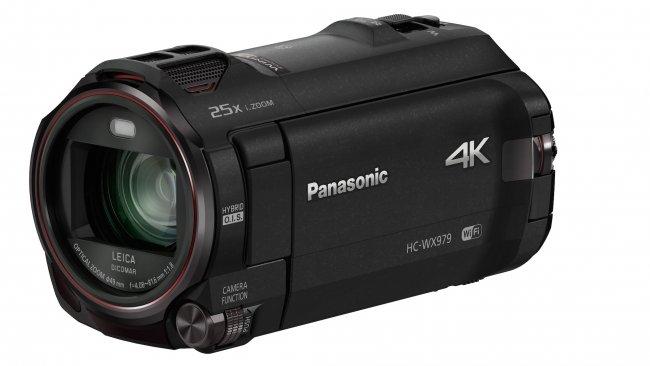 Panasonic WX979: 4K-Camcorder mit zweiter Kamera