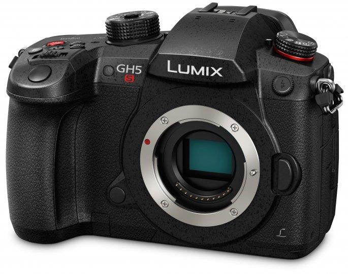 Panasonic Lumix GH5s: Das Gehäuse ist praktisch identisch zu dem der GH5 [Bildmaterial: Panasonic]