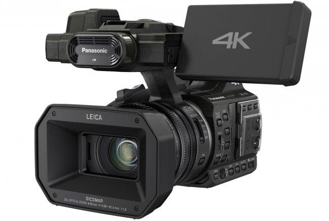 4K Camcorder: Panasonic HC-X1000 [Bildmaterial: Panasonic]