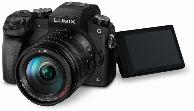 Panasonic Lumix DMC-G7/G70: Das Schwenkdisplay löst mit 1,04 Mio. Pixel auf