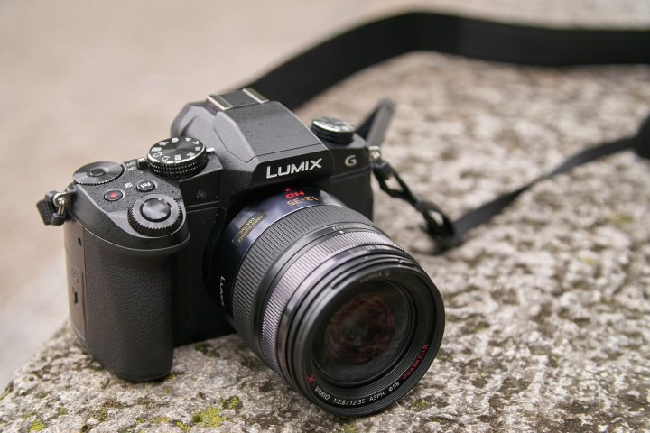 Panasonic Lumix DMC-G81 (Vorserienmodell)