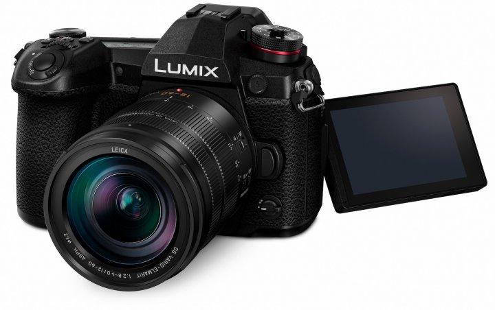 Panasonic Lumix G9: Neu ist unter anderem ein Schulterdisplay