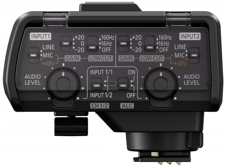 Panasonic DMW-XLR1 [Bildmaterial: Panasonic]