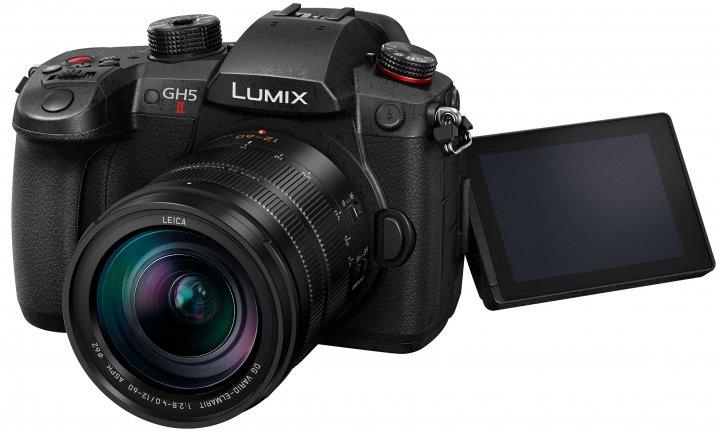 Panasonic Lumix GH5 II: Von außen kaum von der Vorgängergeneration zu unterscheiden [Bildmaterial: Panasonic Deutschland]