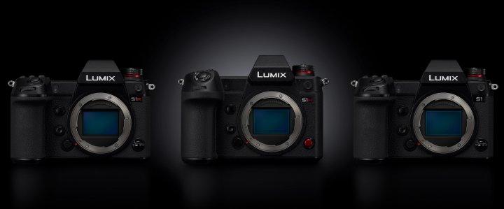 Panasonic Lumix S1R, S1H und S1 (v.l.n.r.)