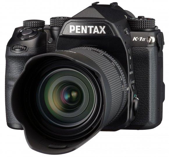 Pentax K-1 Mark II: Äußerlich hat sich nichts verändert [Bildmaterial: Ricoh]