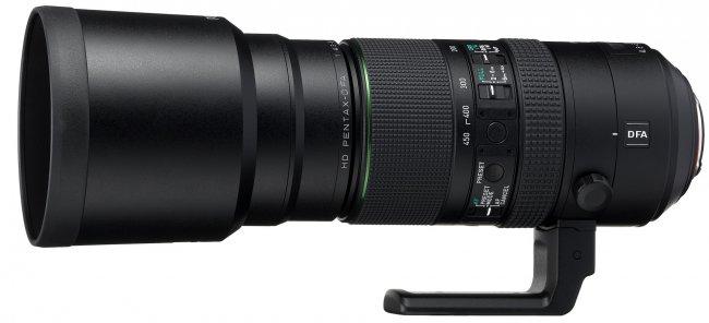 PENTAX-D FA 150-450 mm f/4.5-5.6 ED DC AW [Bildmaterial: RICOH IMAGING]