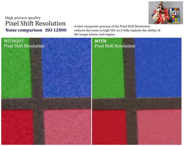 Pentax K-3 II: Weniger Rauschen durch Pixel Shift Resolution [Bildmaterial: Ricoh Imaging]