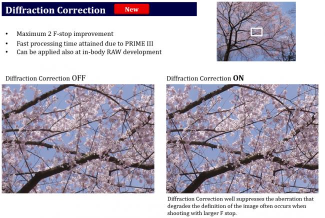 Pentax K-3 II: Diffraction Correction soll für mehr Bildschärfe bei geschlossenen Blenden sorgen [Bildmaterial: Ricoh Imaging]