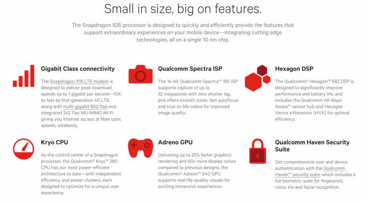 Qualcomm Snapdragon 835: Die Highlights im Überblick