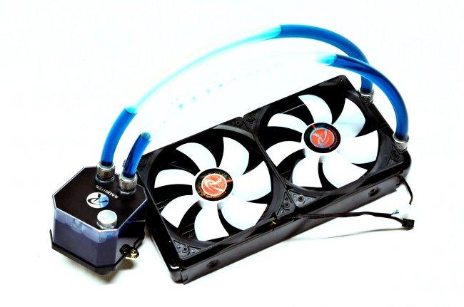 Raijintek Triton - Das System besteht aus einem 240-mm-Radiator und CPU-Kühlblock