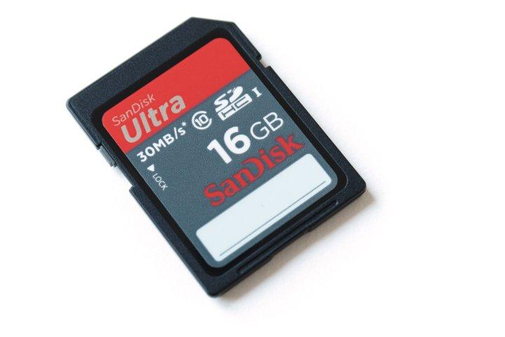 SanDisk Ultra UHS-I (30 MB/s) - 16 GB SDHC Speicherkarte