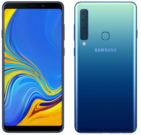 Das Samsung Galaxy A9 verfügt über eine Quad-Hauptkamera und ein 6,3-Zoll-Display