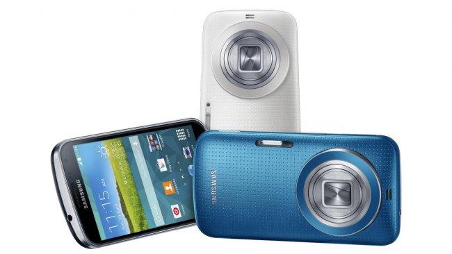 Wird in drei Farben erhältlich sein: Samsung Galaxy K Zoom [Bildmaterial: Samsung]
