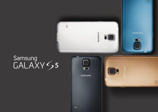 Samsung Galaxy S5: Ab April in vier verschiedenen Farben mit perforiertem Back-Cover erhältlich [Bildmaterial: Samsung]