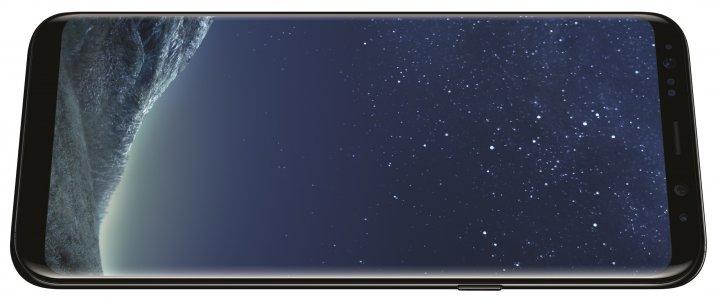 Bedienelemente wie der An/Aus-Knopf sind beim Samsung Galaxy S8+ ziemlich weit oben angebracht