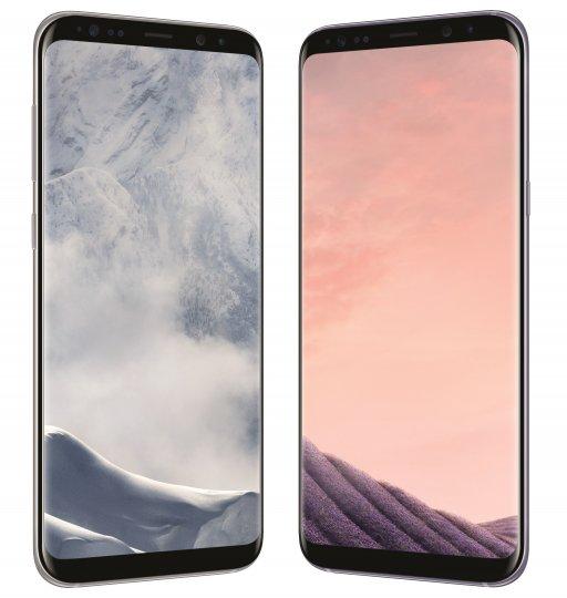 Das Samsung Galaxy S8+ hat ein 6,2-Zoll-Display im 18,5:9-Format
