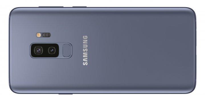 An der rechten Gehäuseseite des Samsung Galaxy S9 Plus liegt der Bixby-Knopf