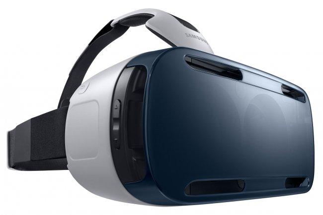 Die Gear VR funktioniert ähnlich wie Oculus Rift, benötigt aber ein Galaxy Note 4 [Bildmaterial: Samsung]