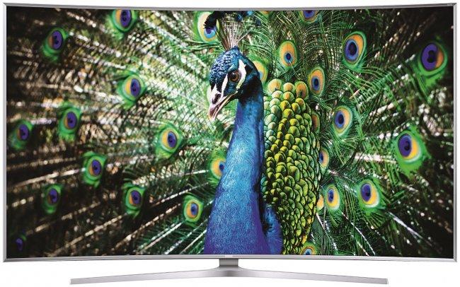 SUHDTVs sind der TV-Trend, zumindest bei Samsung. Im Bild: Der Samsung JS9590 [Bildmaterial: Samsung Deutschland]