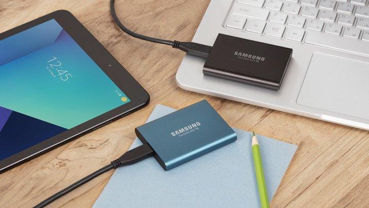 Samsung Portable SSD T5 [Bildmaterial: Samsung]
