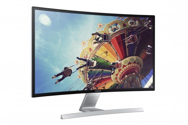 Samsung S27D590C - Ein PC-Monitor mit 27-Zoll-Curved-Display