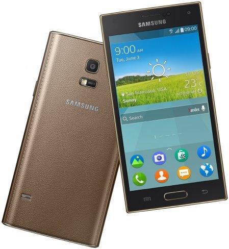 Mit dem Samsung Z stellt man das erste Tizen-basierte Smartphone vor, welches ab dem 3. Quartal in Russland zu haben sein wird [Bildmaterial: Samsung]
