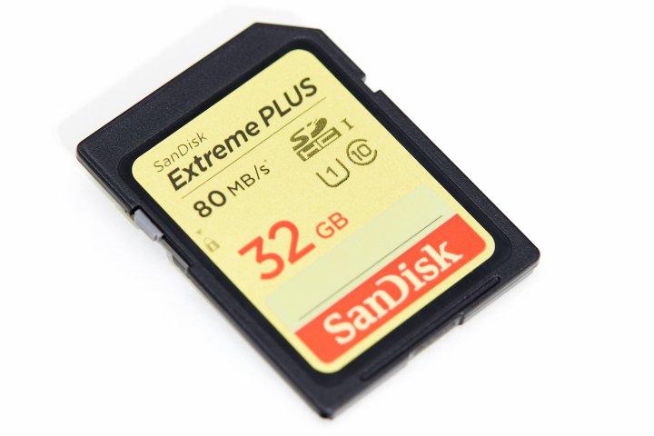 SanDisk Extreme Plus SDHC-Speicherkarte 32 GB