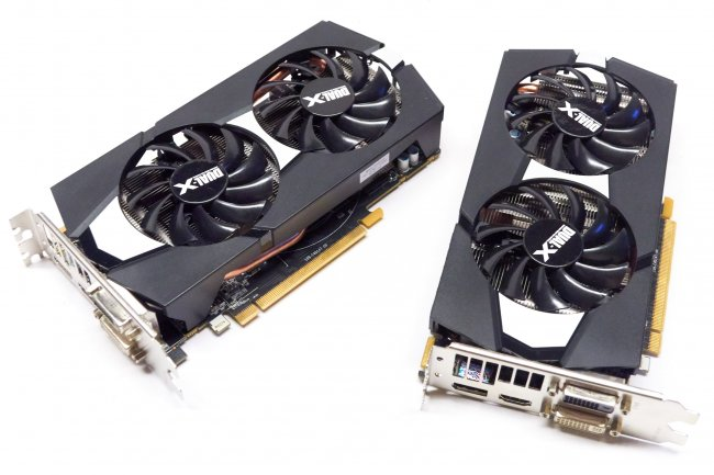 Kaum zu unterscheiden: Sapphire R9 270 Dual-X und R7-265 Dual-X