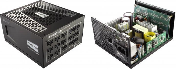Es geht noch sparsamer und teurer: Zur CES 2016 präsentierte Seasonic seine neue Prime-Serie mit 80 PLUS Titanium Zertifizierung. [Bildmaterial: Fractal Design]