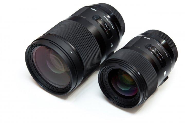 Sigma 40mm F1.4 DG HSM ART (li.) im Vergleich zum Sigma 35mm F1.4 DG HSM ART