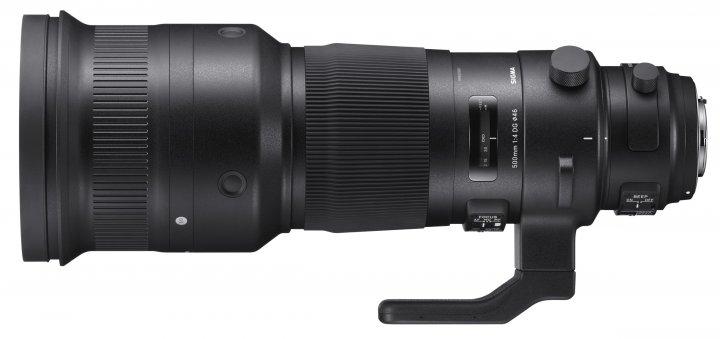 Sigma [S] 500 mm f/4 DG HSM - vorgestellt auf der photokina 2016 [Bildmaterial: Sigma]