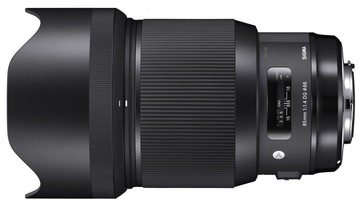 Sigma [A] 85 mm f/1.4 DG HSM - vorgestellt auf der photokina 2016 [Bildmaterial: Sigma]