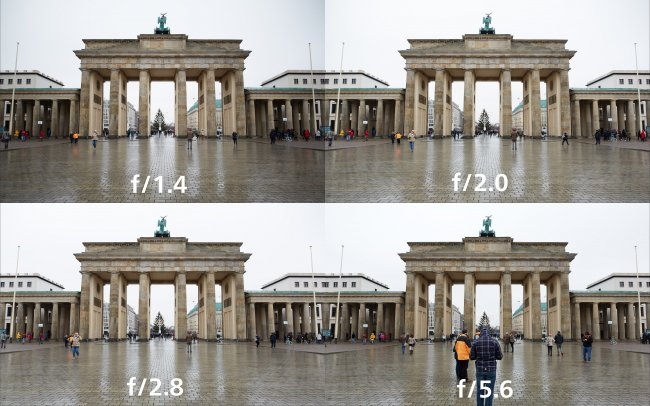 Testbilder Sigma A 20 mm f/1.4 DG HSM + Canon EOS 5D Mark III | Blendenreihe 'Vignettierung' von f/1.4 bis f/5.6