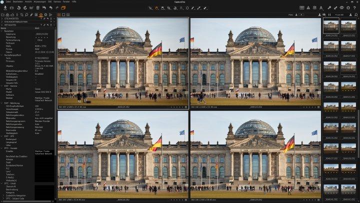 Sigma 85 mm F1.4 DG HSM ART + Canon EOS 5Ds R | Vignettierung von f/1.4 bis f/8 im Vergleich