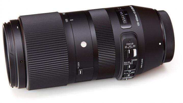 Sigma 100-400 mm DG OS HSM Contemporary: Kleiner und leichter als 150-600 mm, etwas größer als die 70-300-mm-Klasse