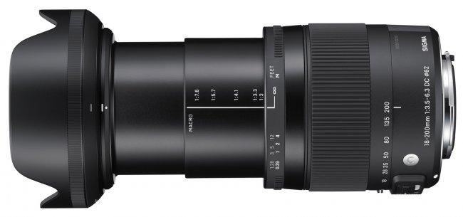 Sigma C 18-200 mm f/3.5-6.3 DC OS HSM Macro (Bildmaterial: Sigma)