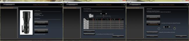 Sigma Optimization Pro - AF-Einstellmöglichkeiten für das Sigma 150-600 mm DG OS HSM [S]