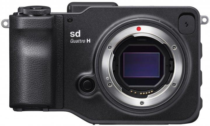 Jetzt als DSLM und auch mit ASP-H-Bildsensor: Sigma SD Quattro H [Bildmaterial: Sigma]