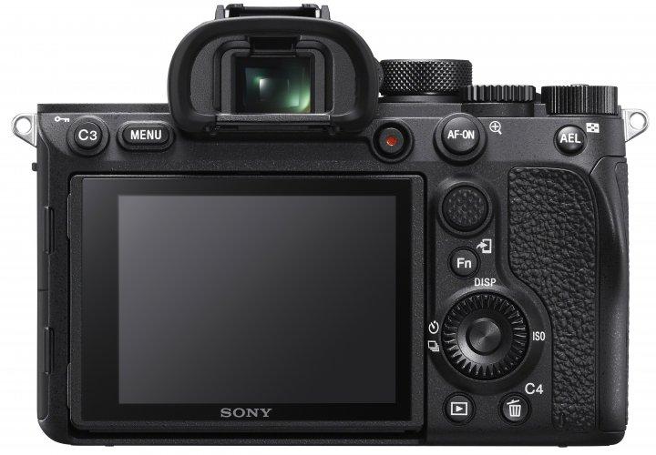 Sony Alpha 7R IV: AF-Joystick und AF-On-Knopf wurden überarbeitet [Bildmaterial: Sony Deutschland]