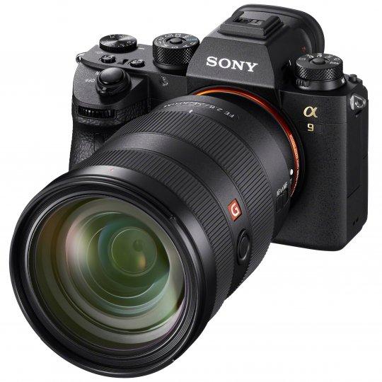 Sony Alpha 9 mit dem FE 24-70 mm f/2.8 GM [Bildmaterial: Sony]