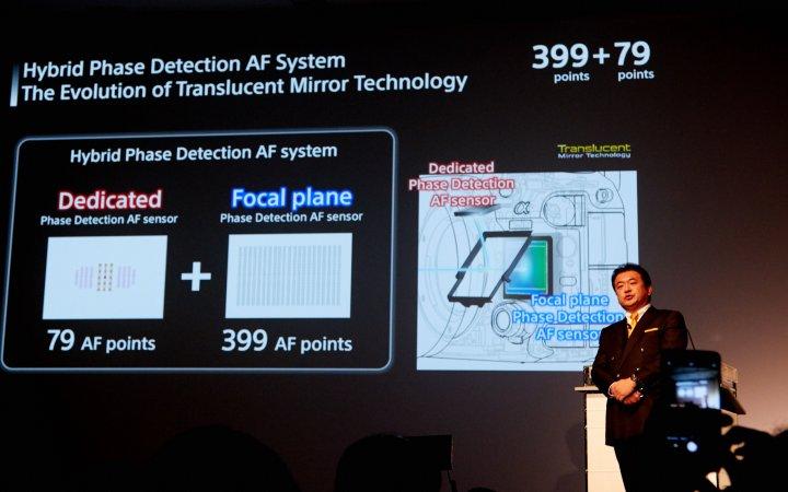 Sony Alpha 99 II: Das Autofokus-System wurde deutlich überarbeitet