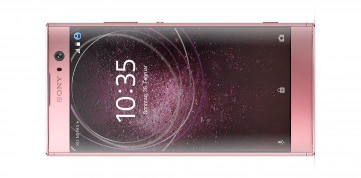 Das 5,2-Zoll-Full-HD-Display deckt die ganze Breite der Vorderseite des Sony Xperia XA2 ab