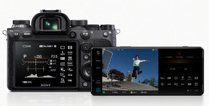Viele Funktionen der Sony-Alpha-Kameras finden sich auch im Smartphone Sony Xperia 1 III